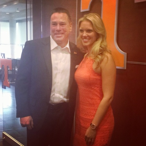 Tennessee Football head coach Butch Jones on National Signing Day 2014