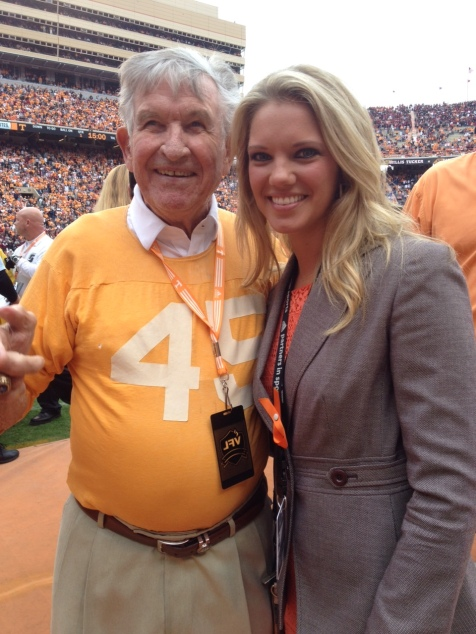 Former Vol Head Coach Johnny Majors