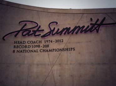 Pat Summitt dedication on UT's campus
