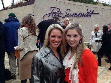 Sara with Andee Summitt