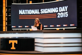 Hosting National Signing Day 2015 from the Ray & Lucy Hand Digital Studio
