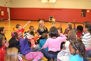 Guest speaker at the Boys' & Girls' Club in Knoxville