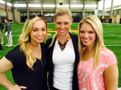 ESPN's Kayce Smith covered NFL Pro Day at the University of Tennessee