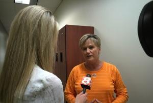 Lady Vol Coach Holly Warlick SEC Basketball Media Days Charlotte, NC