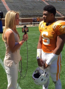 Spring Practice interview with DB Todd Kelly Jr.