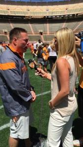 Spring Practice Interview with TN Head Coach Butch Jones