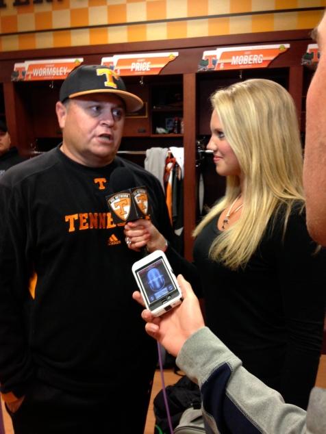 Vol Baseball head coach Dave Serrano