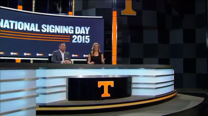 Head coach Butch Jones joined Sara Mitchell to recap the day.