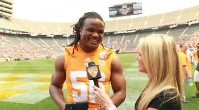 Vols Curt Maggitt at Orange & White Game