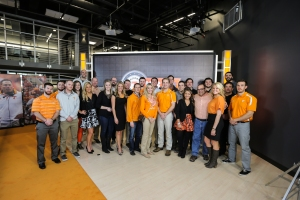 KNOXVILLE,TN - FEBRUARY 04, 2015 -  inside of National Signing Day in Knoxville, TN. Photo By Donald Page/Tennessee Athletics