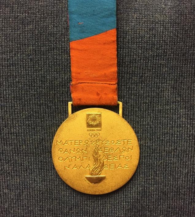 Tim's gold medal