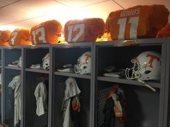 Tennessee locker room