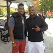 Lewis and VFL Jayson Swain
