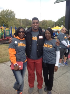 Zenobia Dobson, LaTroy Lewis and his mother