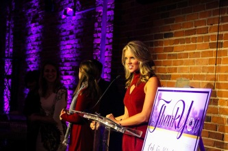 Emceeing the Big Brothers Big Sisters Cash for Kids' Sake Fundraiser
