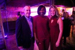 CEO Doug Kose, Zenobia Dobson and Sara