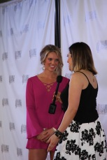 Sara interviewing with the Nashville Film Festival
