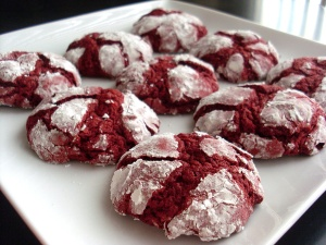 Blog - crinkle cookies