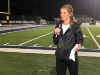 Sara sideline reporting