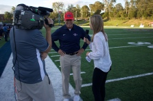 Sara interviews South-Doyle head coach Clark Duncan