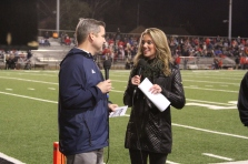 Sara and Mark Packer at Maryville H.S.