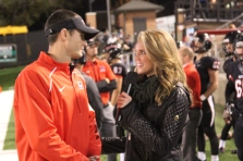 Sara interviews Maryville head coach Derek Hunt