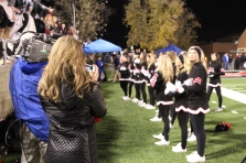 Maryville High School cheerleaders