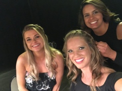 Backstage at Dancing with the Knoxville Stars